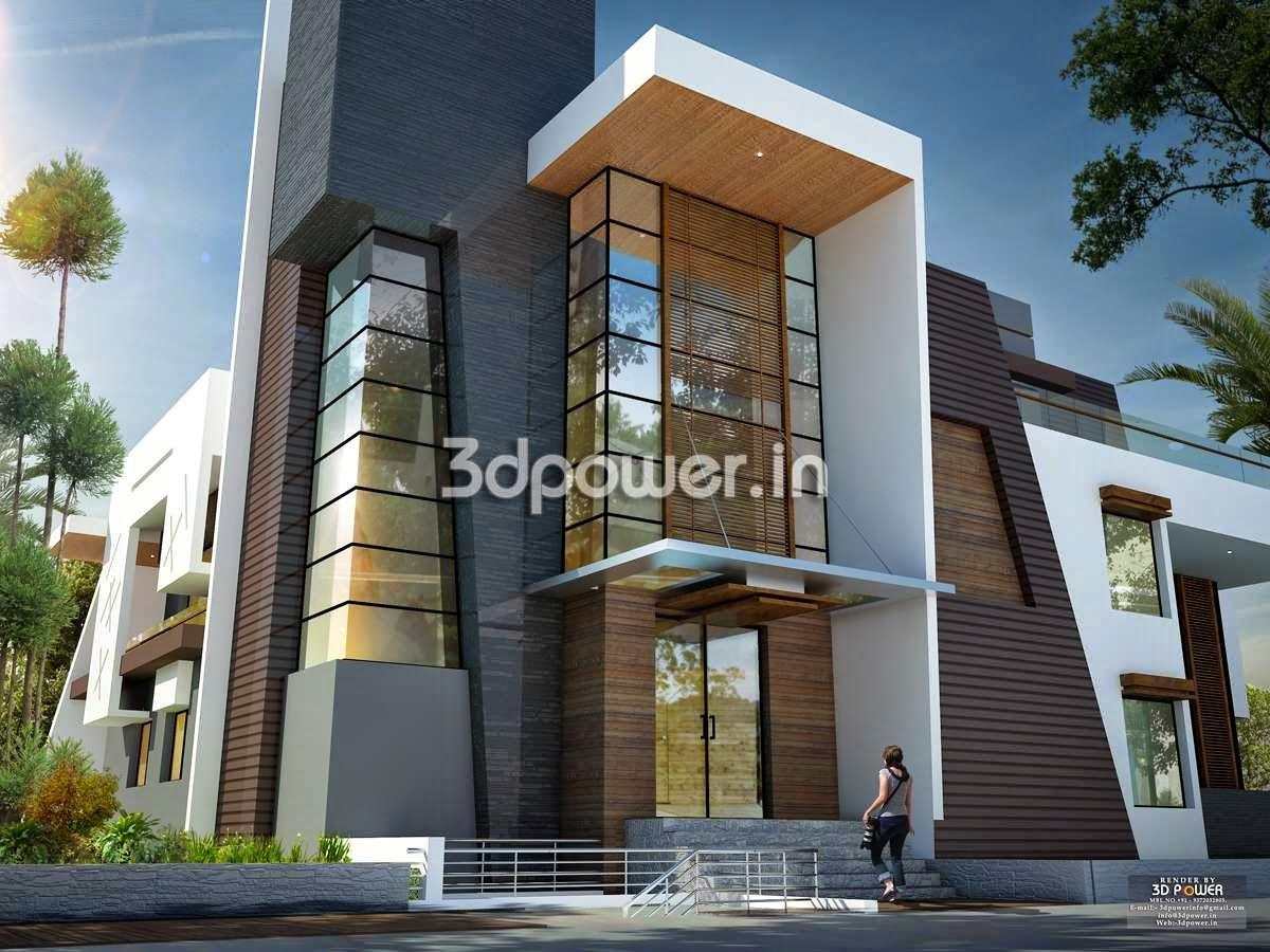 House 3d Interior Exterior Design Rendering Warmovie